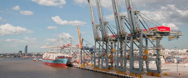 Actividad en puerto de Montevideo aumenta ocho por ciento