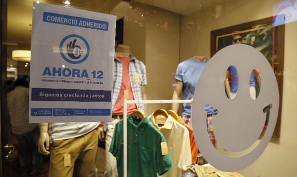 Argentina aumenta consumo interno con el programa Ahora 12