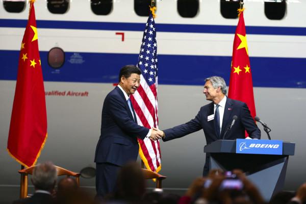 Boeing en China
