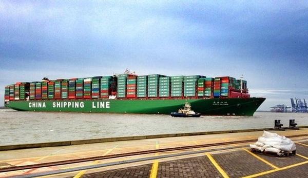 CSCL es la naviera con el portacontenedores mas grande