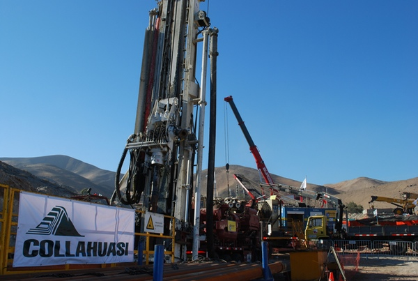 Collahuasi disminuye su produccion en Chile