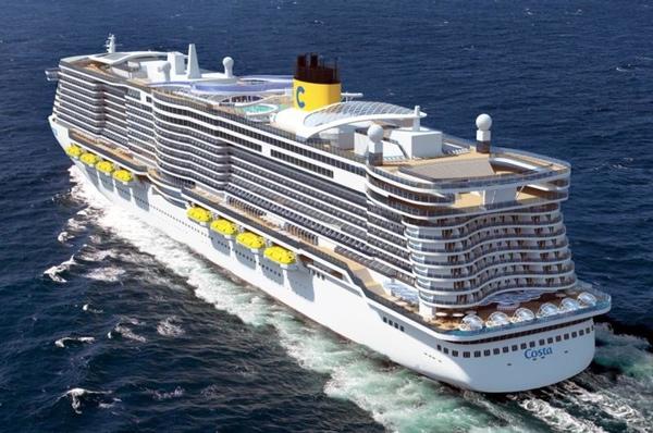 Costa Cruceros es nombrada mejor linea de cruceros de Asia