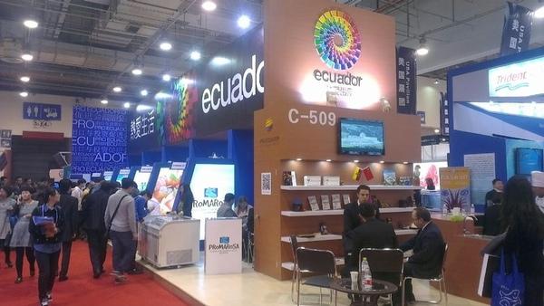 Ecuador promociona sus productos maritimos en China