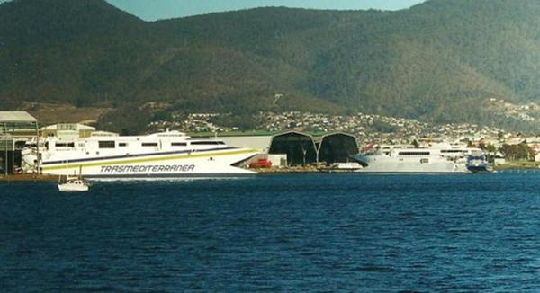 Incat Tasmania construira seis ferris para Sidney