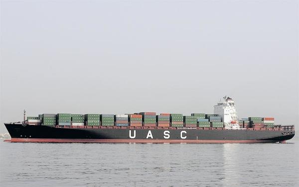 Incendio retrasa ruta de buque de UASC