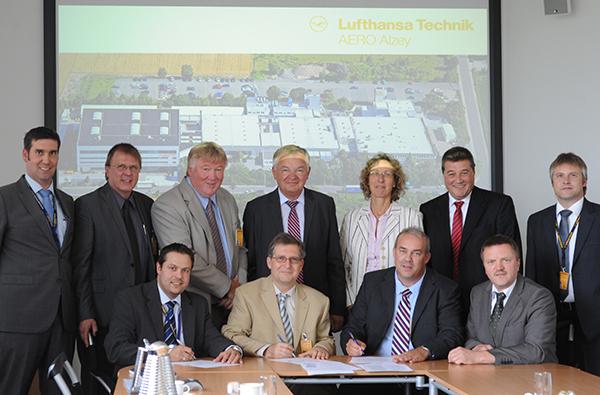 Lufthansa-directivos