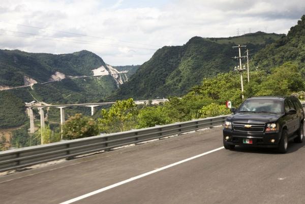 Mexico inaugura nueva autopista