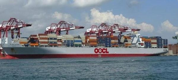 OOCL bautiza su nuevo buque