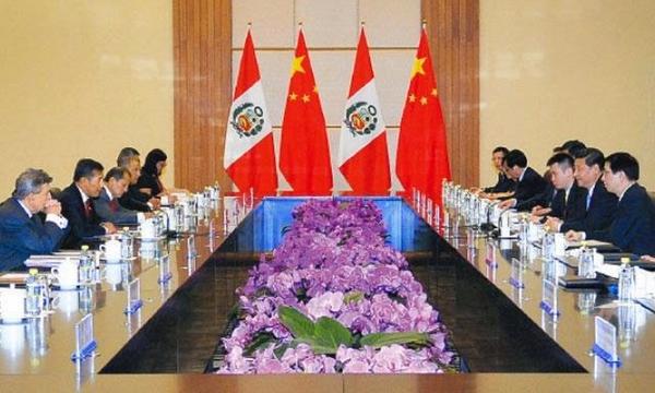 Peru cuadriplica su relacion comercial con China