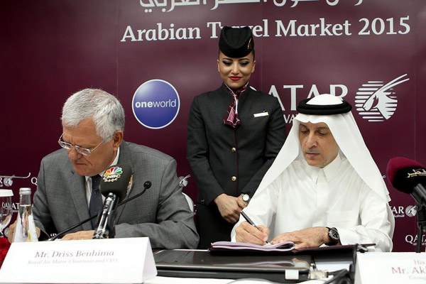 Qatar Airways y Royal Air Maroc
