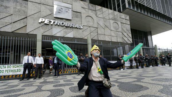 Trabajadores de Petrobras van a la huelga