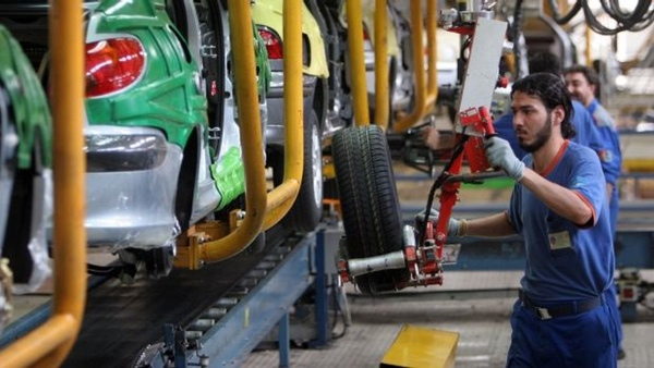 Venta de automoviles en Mexico crece en agosto