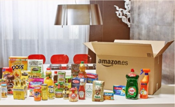 Amazon vende comida
