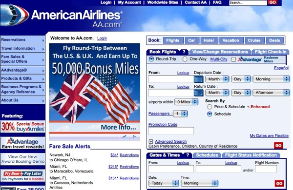 American-Airlines-pagina-web