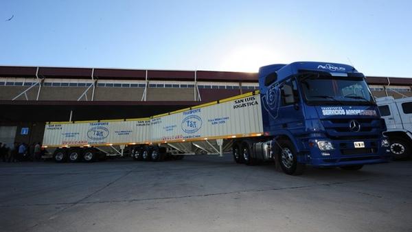 Argentina aprueba la circulacion de camiones bitrenes