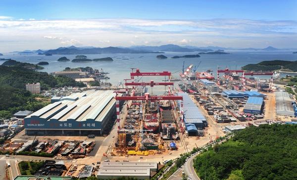 Astilleros surcoreanos afrontan grandes perdidas