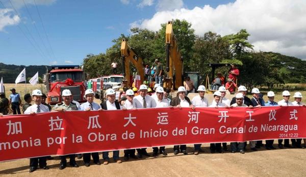 Canal de Nicaragua podria causar riesgos medioambientales