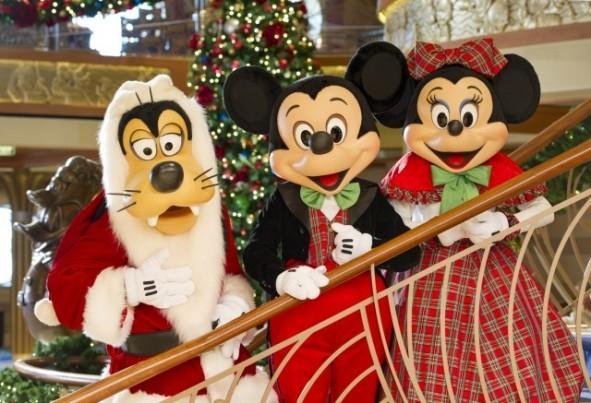 Disney Cruise Line presenta sus actividades navidenas