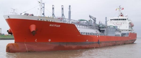 Epic Gas firma contrato de financiacion para sus buques