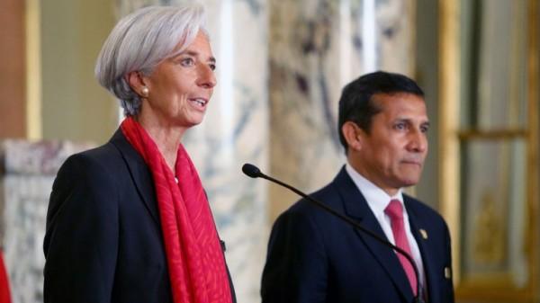 FMI desaceleración mundial