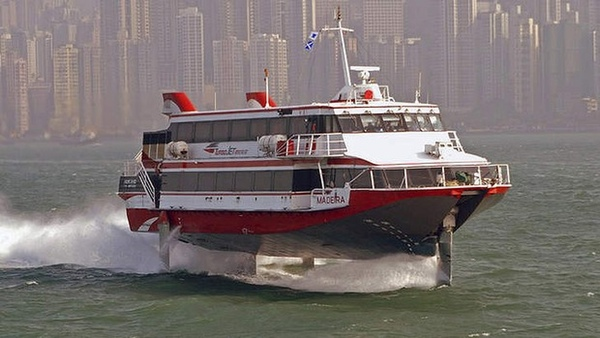 Ferri sufre accidente en aguas de Hong Kong