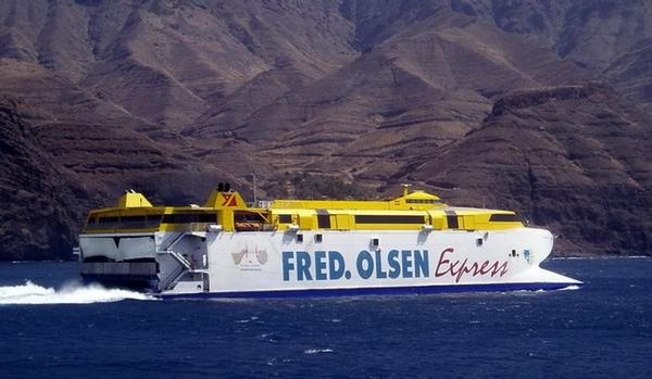 Fred Olsen ofrece cruceros en las Islas Canarias