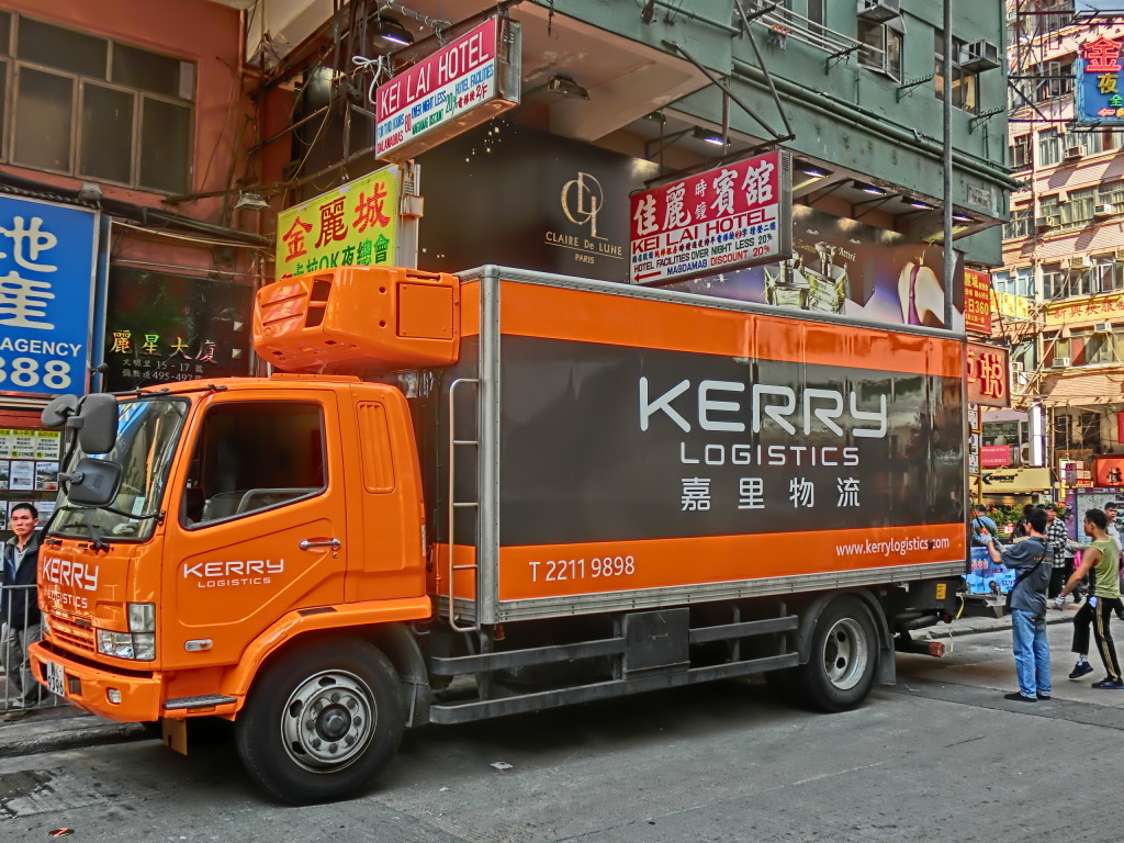 Kerry Logistics-camion