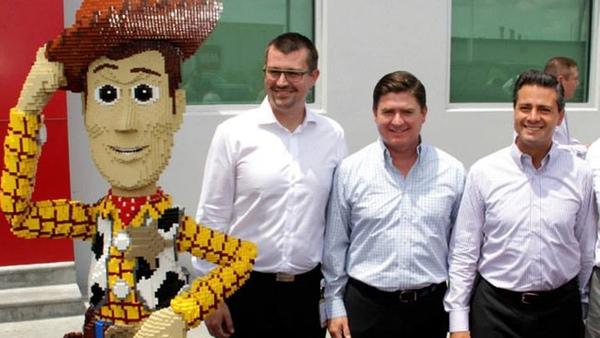 Lego aumenta su inversion en Mexico