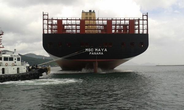 MSC bautiza nuevo buque de 19.000 TEU