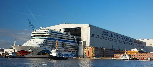 Meyer Werft construira buque para Saga Cruises