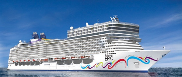 Norwegian Epic entra en dique seco