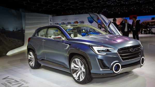 Subaru Viziv Concept Future
