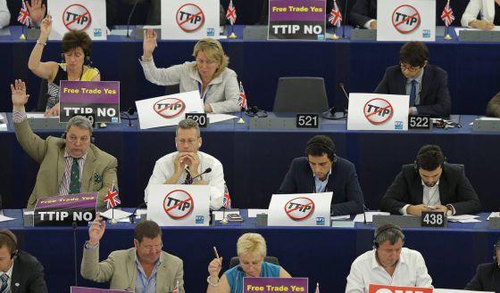TTIP camara europea