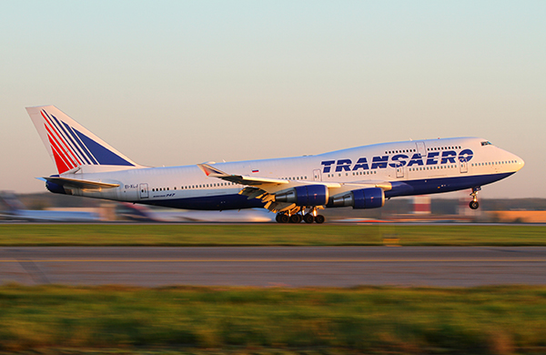 Transaero-avion