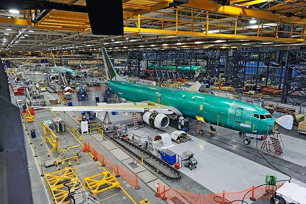 planta de aviones boeing