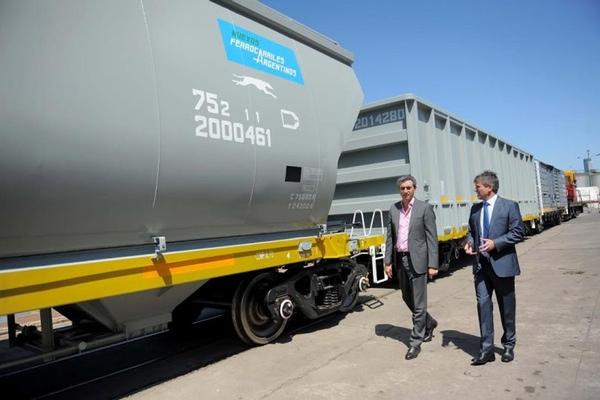 Argentina recibe vagones chinos para su ferrocarril