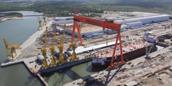 Astillero Atlantico Sul prosigue los despidos