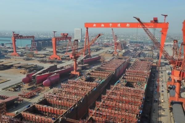 Astillero Yangzijiang Shipbuilding aumenta sus beneficios