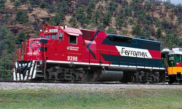 Ferromex amplia comunicacion entre Mexico y Estados Unidos