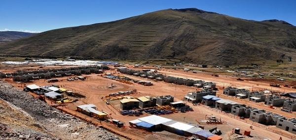 MMG comenzara su produccion en Peru