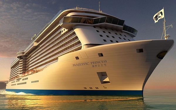 Majestic Princess navegara por el Mediterraneo y Asia