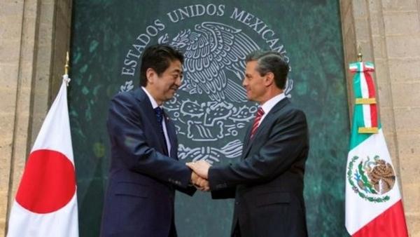 Mexico y Japon refuerzan comercio internacional