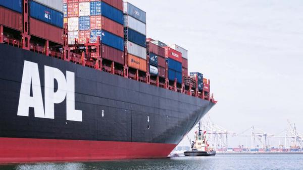 NOL podria vender la linea de contenedores APL