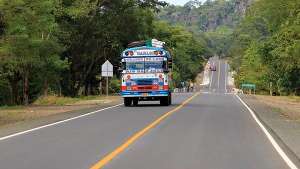 Nicaragua mejora sus carreteras