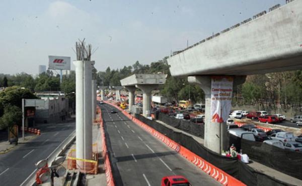 Obras de carretera Mexico a Puebla estan finalizadas al 60%