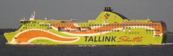 Tallink vende un ferri