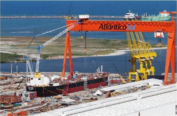Astillero Atlantico Sul puede perder pedidos