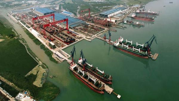 Astilleros chinos lideran los encargos en noviembre