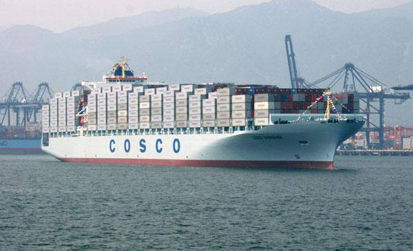 Fusion de navieras chinas puede crear un monopolio