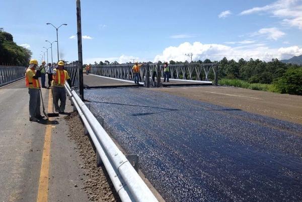 Guatemala reduce su inversion en infraestructuras